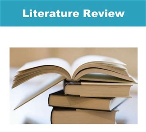 Steps for Conducting a Lit Review - Literature Review